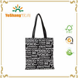 High Quality Promotional Black Canvas Bag