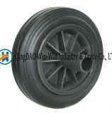 8 Inch Rubber Wheels for Garbage Bin Trash Can Ash Bin 200 X 50 Rubber Crumb Wheels