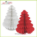 Christmas Tree Tissue Paper Honeycomb Ball