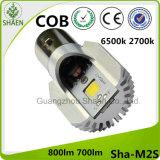 LED Motorcycle Headlight 6500k White M2s Ba20d