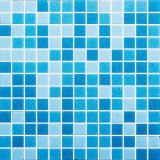 Blue Color Melting Glass Swimming Pool and Bathroom Mosaic
