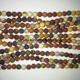 Natural Crystal Matte Finished Frosted Mookite Bead Jewellery