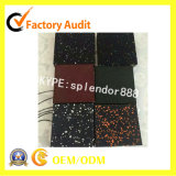 Small Samples Pieces of Gym Fitness Rubber Flooring Rolls