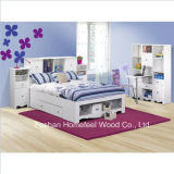 Full Storage Bed 7 Piece Bedroom Set in White
