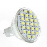 Halogen Replacement 12V DC MR11 Gu4 24 3528 SMD LED Spotlight Bulb Lamp