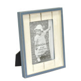 Wooden Picture Frame with Colorful Distressed Finish