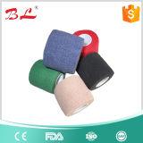 Horse Veterianry Elastic Nonwoven Cohesive Bandage Non Woven/Cotton Elastic Bandage