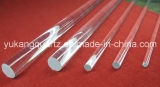 Different Diameter High Purity Clear Quartz Rod for Selling