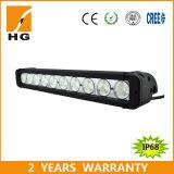 Wholesale 17inch 100W Single Row StraightWrangler LED Offroad Light Bar
