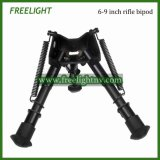 6-9 Inch Tactical Hunting Harris Bipods for Rifle Airsoft Airgun M4 M16 Ar15 Ak Heavy Duty Shooting Hunting Accessory (FX10001)