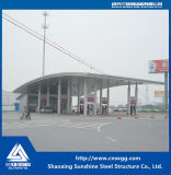 Cheap Prefabricated Light Steel Structure Gas Station
