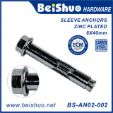 Repair Part Flange Head Sleeve Expansion Bolt Anchor
