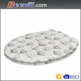 Western Standard Decorated Toilet Seat Cover Made in Xiamen China
