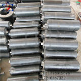 Black Color Impact Resistant Roller Used for High Strength Conveyor System
