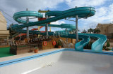 Water Park Fiberglass Aqua Slide Tube