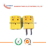 Spot goods yellow mini thermocouple connector (type K )