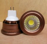 New Dimmable 3W 5W 12V DC MR16 COB LED Bulb Spotlight
