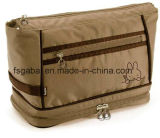 Fashion Unisex Polyester Travel Cosmetic Bag Pouch