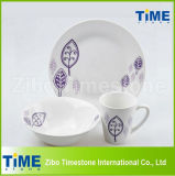 12PCS Country Style Porcelain China Dinnerware