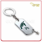 Custom Soft Enamel Turtle Pattern Key Chain