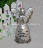 Resin/Polyresin Angel Figure with Silver Colors