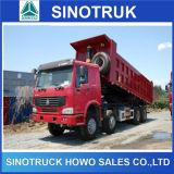 8X4 371HP Euro2 Front Lifting 30m3 Dump Truck