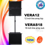 China Manufacturer Skytone Vera 12inch Line Array Top and 18inch Line Array Subwoofer System