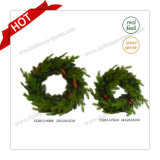 D25cm Factory Sale Plastic Artificial Gift Craft Christmas Decorations