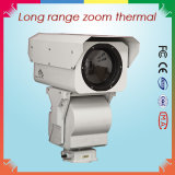 PTZ Long Range Zoom IR Thermal Camera for 13km Surveillance