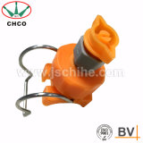 CH PP Adjustable Ball Flat Fan Spray Nozzle