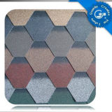 Self Adhesive Mosaic Asphalt Roof Shingle /Colorful Fibreglass Roof Tile /Bitumen Roofing Material with ISO