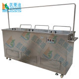 Blind Ultrasonic Cleaning Equipment, Blind/ 3m/ 6kw Two Tank Ultrasaonic Cleaning Equipment