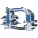 Four Colors Flexible Letter Pressing Machine