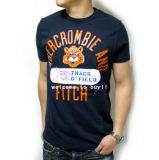 Wholesales Round Neck Cotton Printing T Shirt for Men