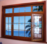 Double Glazing Aluminium Clad Wooden Window