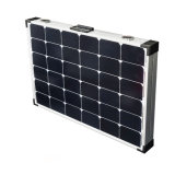 160W Folding Poly Solar Panel for Charging 12V Battery