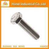 Stainless Steel 304 316 410 Hex Head Bolt Hexagon Bolt