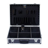 Aluminum Tool Case with Wave Foam and Tool Panel (HQC-at 009)