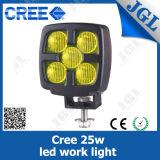 25W CREE LED Yellow Fog Light for Heavy Duty