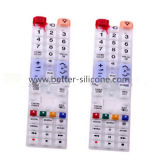 Custom Silicone Rubber Keypads with Double Hardness