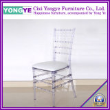 Chiavari Chair (clear) with Cushion