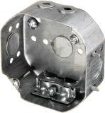 4 in. Steel Octagonal Ceiling Box, 1-1/2 in. Deep
