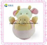 Funny Pink Round Bull Plush Baby Toys (XMD-0019C)