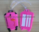 Animal Promotional Cute 3D Soft PVC Suitcase Tag (AS-CZ-PL-0611015)