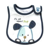 Promotional Cartoon Custom Embroidered Printed Baby Bib