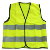 En1150 Reflective Strip Polyester High Visibility Children Safety Vest (YKY2815)