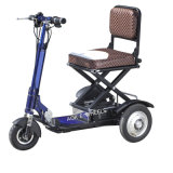 350W Disabled Mini Foldable Lithium Battery Three Wheel E-Scooter (MS-013)