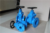 Worm Gear Ductile Iron Rubber Wedge Gate Valve (Z41X-10/16)