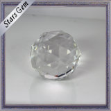 Clear White Round Large Quantity Stock Crystal Beads