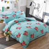 Home Textile Microfiber Fabric Bed Sheet Bedding